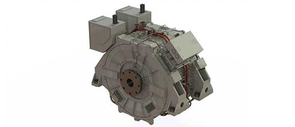 Proposed HED motor for the FFGX.