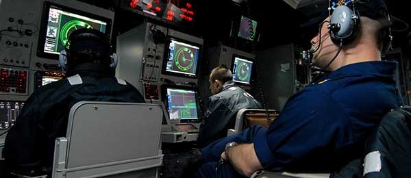Anti-sub system onboard Navy ship.