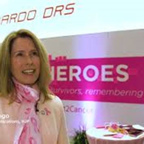Interview with breast cancer survivor Hilary Longo at AUSA Annual Meeting