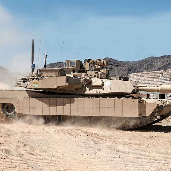 Leonardo DRS, Rafael Deliver Initial TROPHY Active Protection Systems To Army