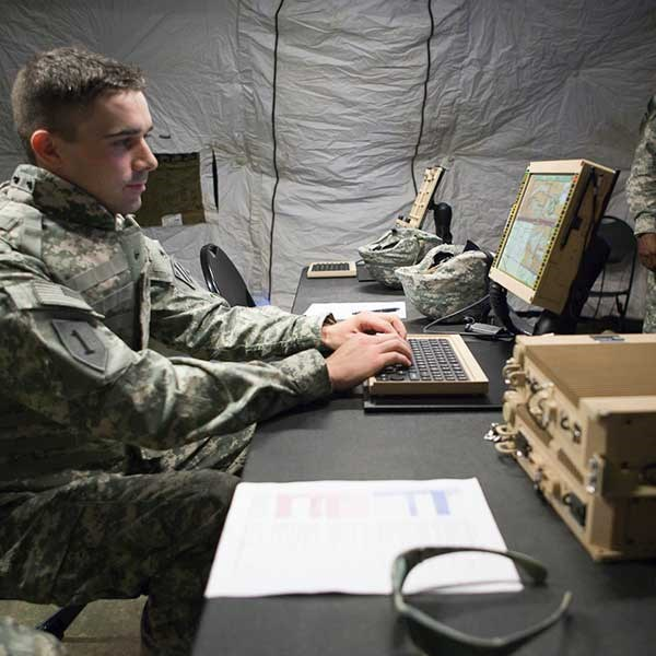 Defending Networks that help Defend on the Battlefield