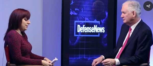 Defense News Interview with Leonardo DRS