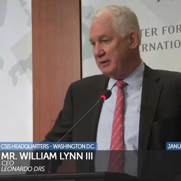 Bill Lynn at CSIS Global Security Forum