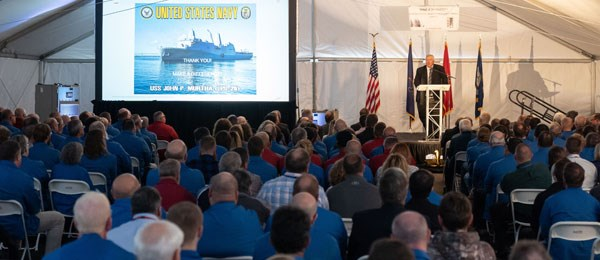 Naval Electronics Commemorates CANES Units in Johnstown