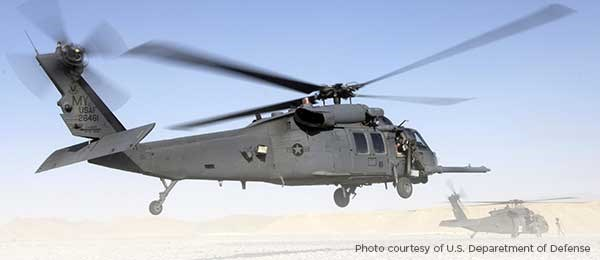 U.S. Air Force Deploys Urgent Need Helicopter Protection Systems from Leonardo DRS