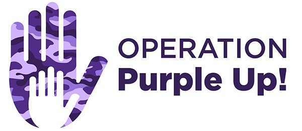 "Leonardo DRS Hosts a ""Purple Up"" Day for Military Children"