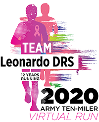 Leonardo DRS 2020 Army Ten-Miler team logo