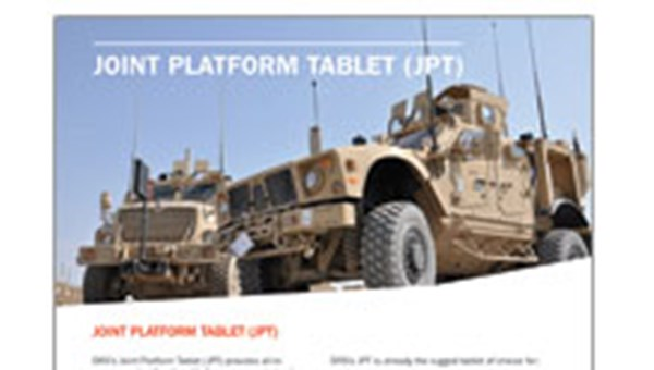 Joint Platform Tablet (JPT) data sheet