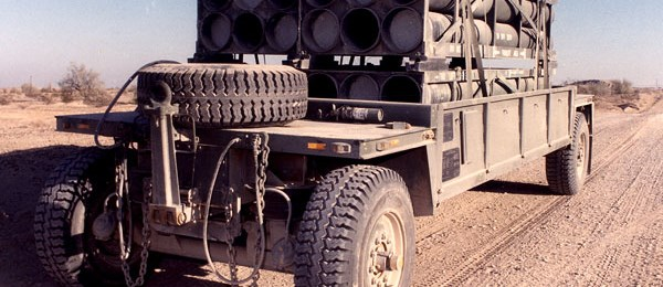Heavy Expanded Mobile Ammunition Trailer