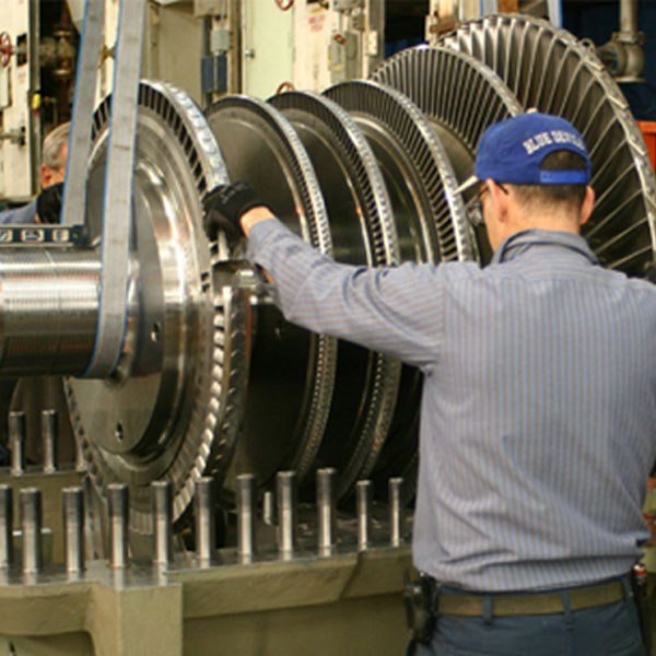 Steam turbine image