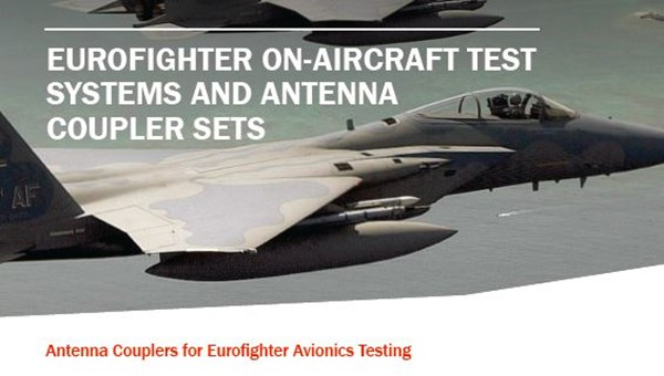 Antenna Couplers for Eurofighter