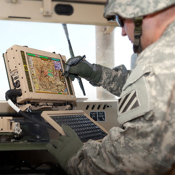 DRS to provide rugged tablet computers with trusted computing for battlefield command & control