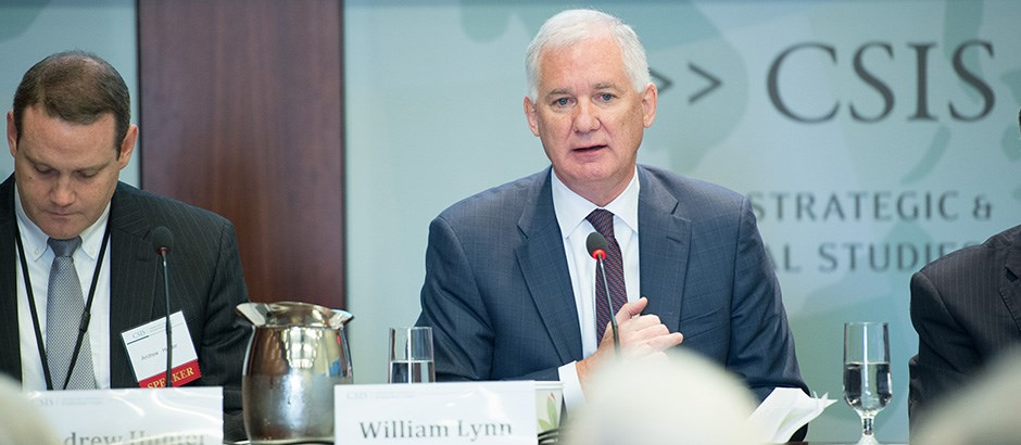 DRS CEO BILL LYNN SPEAKS AT CSIS