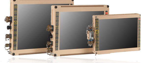 DRS Multi-Function Rugged Displays