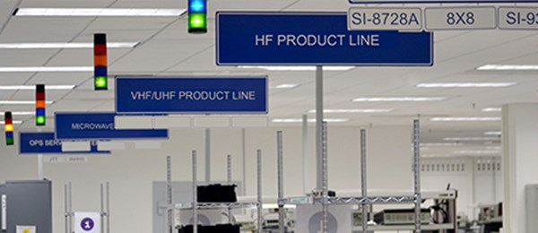 DRS Signal Solutions Manufacturing Floor