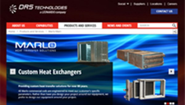 Image of commercial HVAC main page