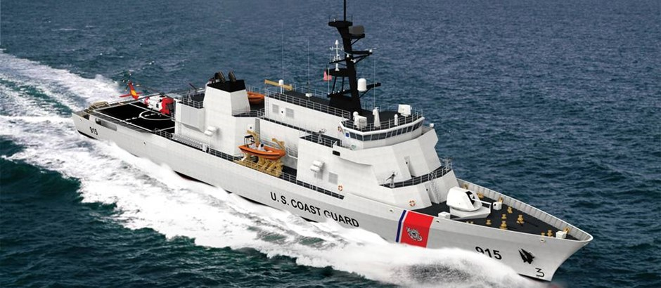 DRS to Provide USCG with Advanced Hybrid Electric Drive Technology