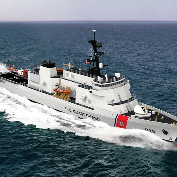 DRS Hybrid Electric Drive for USCG
