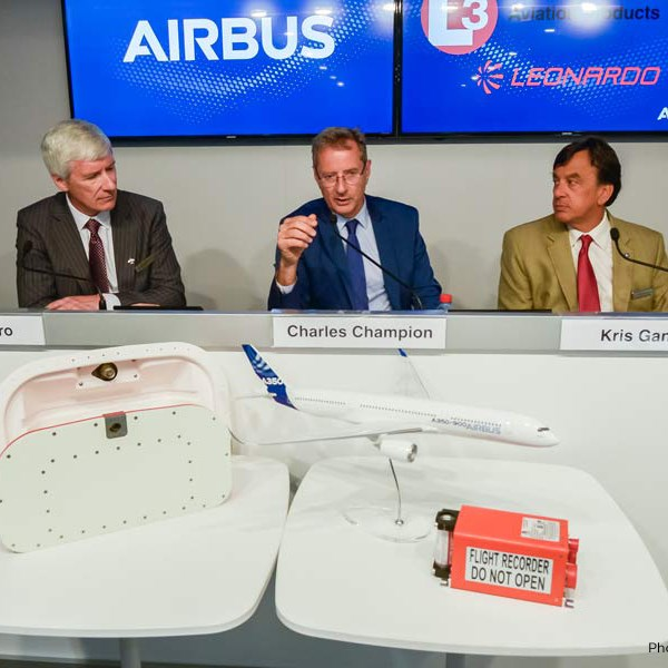 A350 deployable flight recorder announce