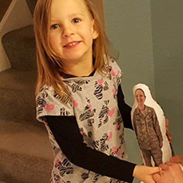 Dolls Help Children Connect to Distant Family Members