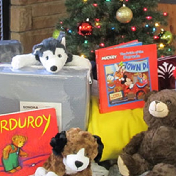 NPS Employees Stage Drive for Needy Children in Connecticut