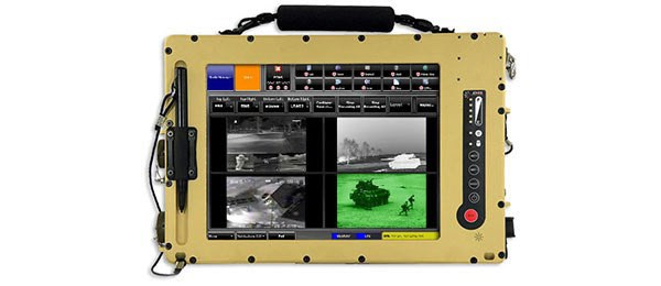 DRS' rugged Joint Platform Tablet (JPT)