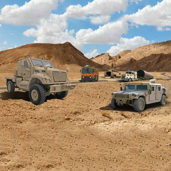 PM machines in desert