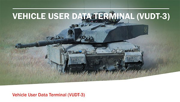 Vehicle User Data Terminal (VUDT-3)