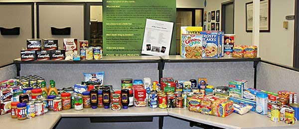 Donating Food to Highlight Environmental Concerns