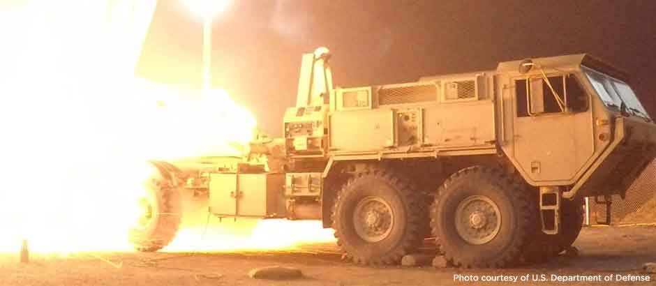 OBVP on THAAD Vehicles