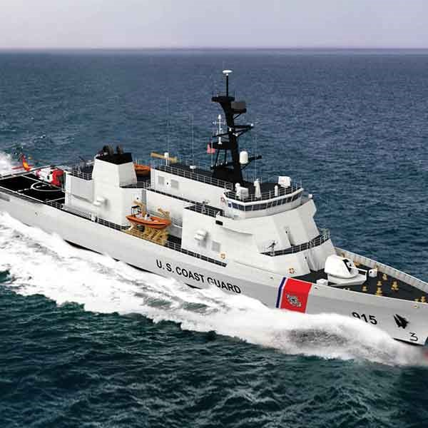 Leonardo DRS to Provide Advanced Hybrid Electric Drive for Second U.S. Coast Guard Offshore Patrol Cutter