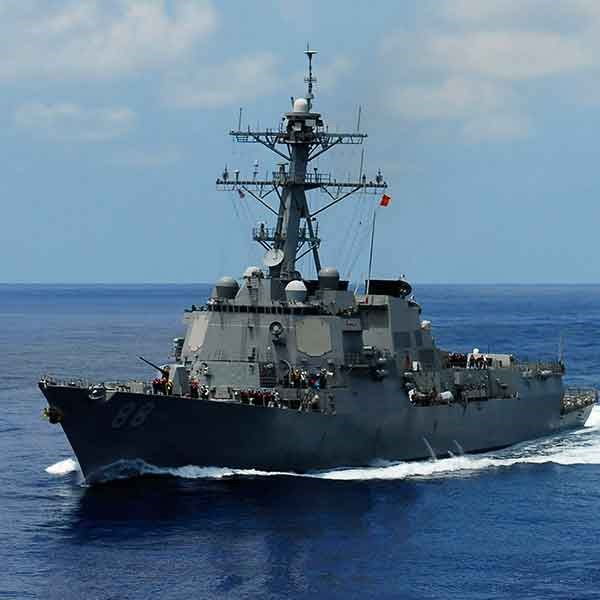 Boeing, Leonardo DRS Subsidiary Land Navy Contracts for Destroyer Ethernet Installation Support